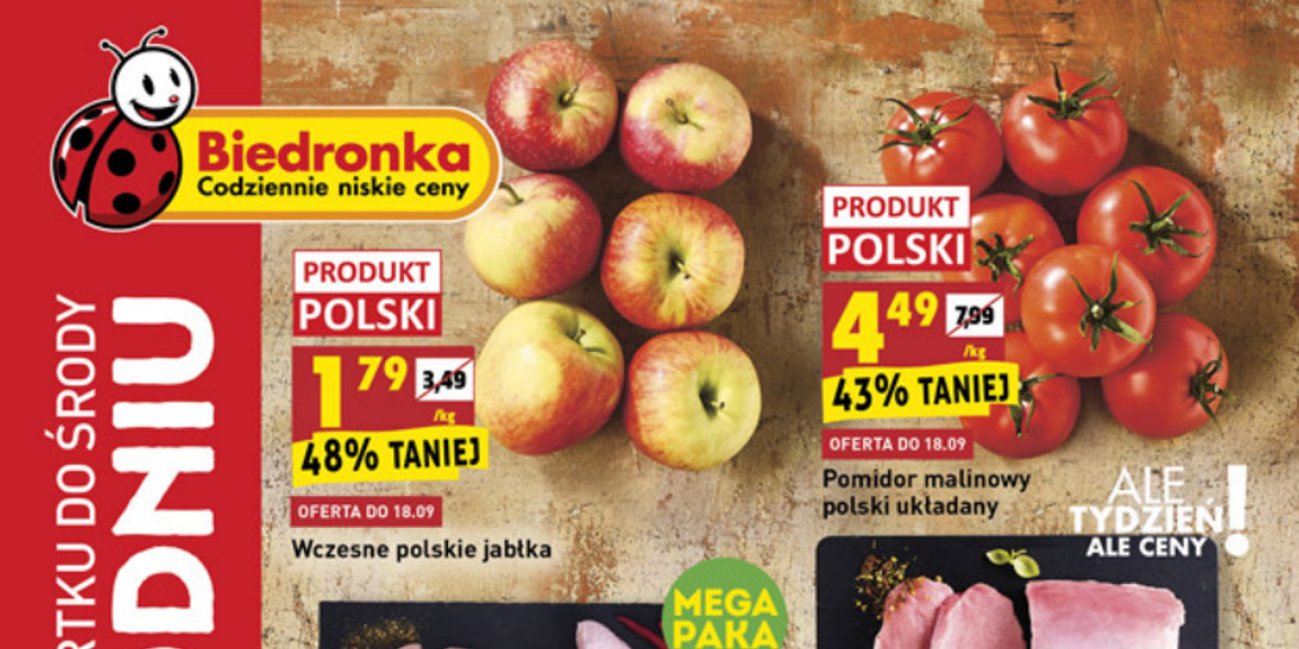 Biedronka: Gazetka Biedronka - W tym tygodniu od 16.06 2021-09-16