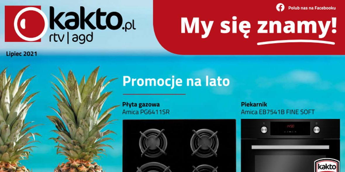 kakto.pl: Gazetka Kakto.pl 2021-07-02