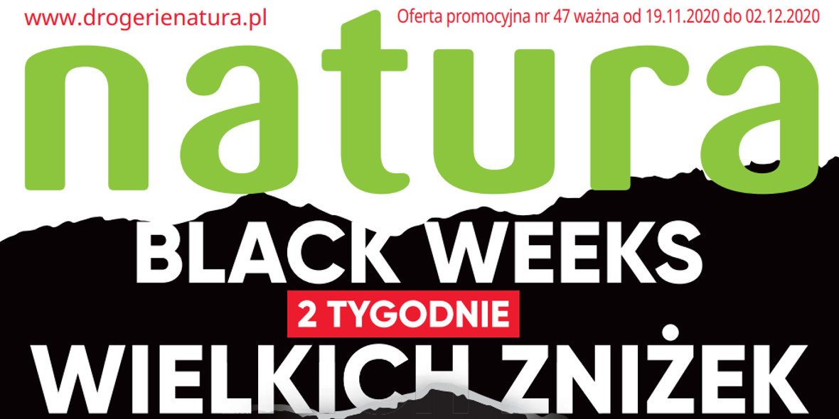 Drogerie Natura: Black Weeks 2020-11-19