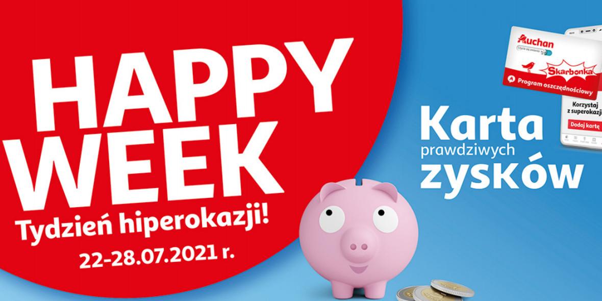 Auchan: Gazetka Auchan - Skarbonka #29 2021-07-22