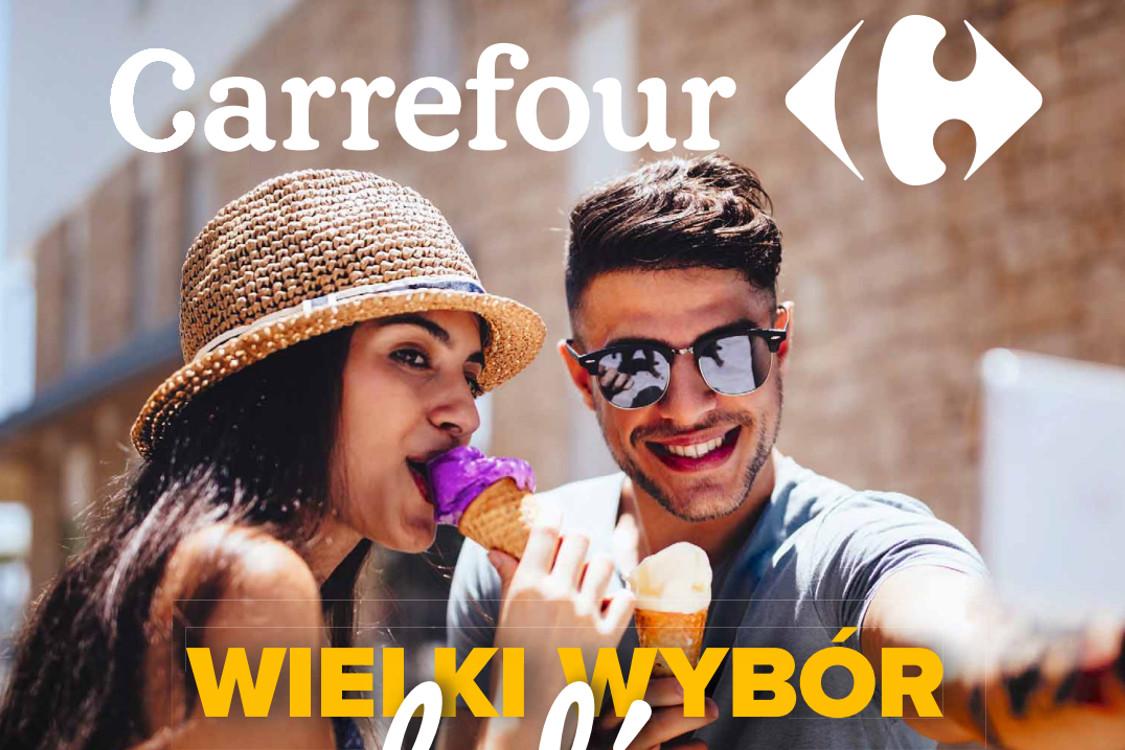 Carrefour: Gazetka Carrefour - Wielki wybór lodów 2021-05-25