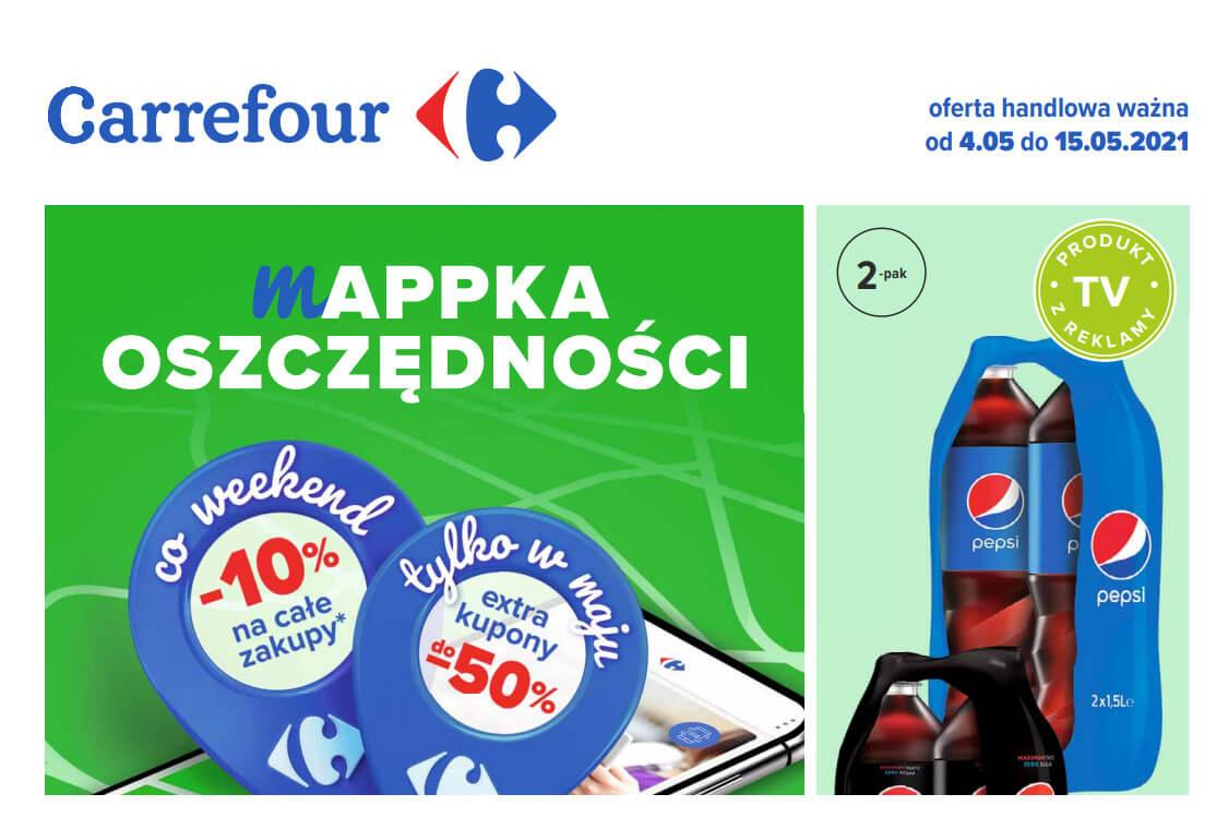 Carrefour: Oferta handlowa od 04.05 2021-05-04