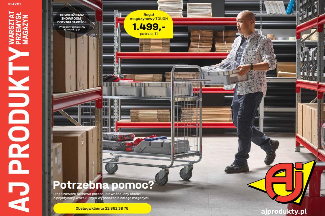 AJ Produkty: Gazetka AJ Produkty - katalog przemysł i warsztat 2021-05-07
