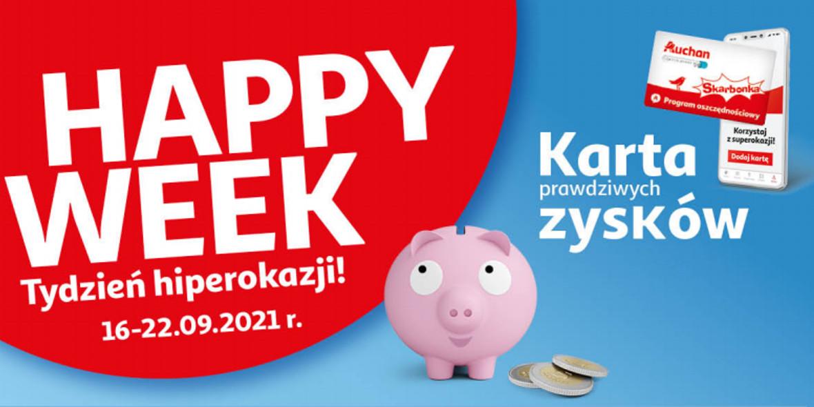Auchan: Gazetka Auchan - Skarbonka #37 2021-09-16