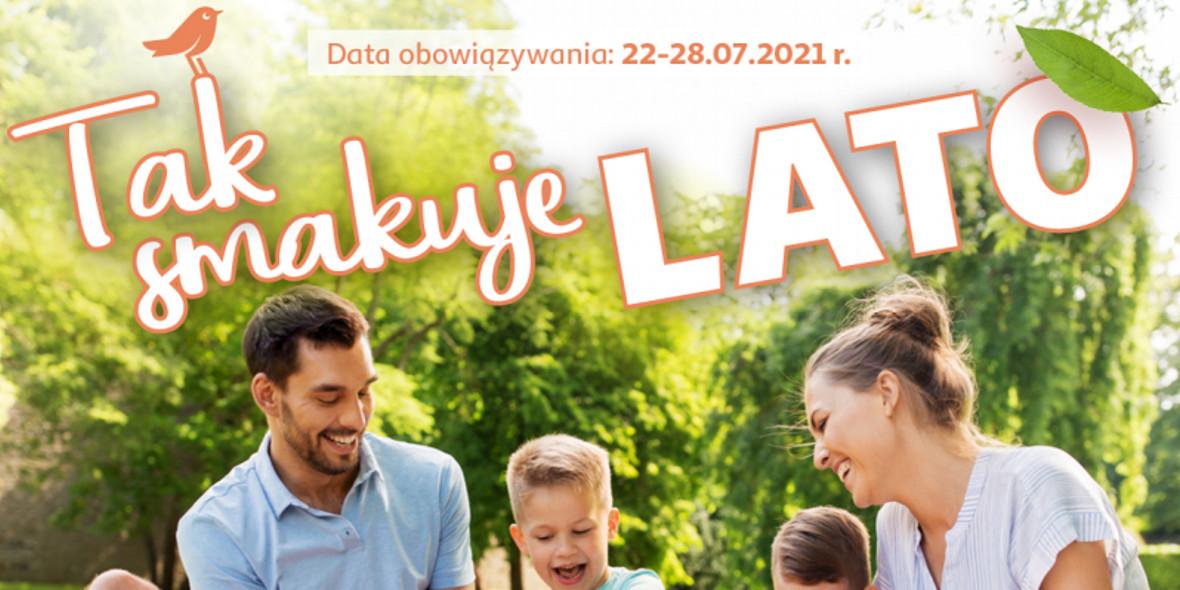 Auchan: Gazetka Auchan - Tak smakuje lato Hipermarkety 2021-07-22