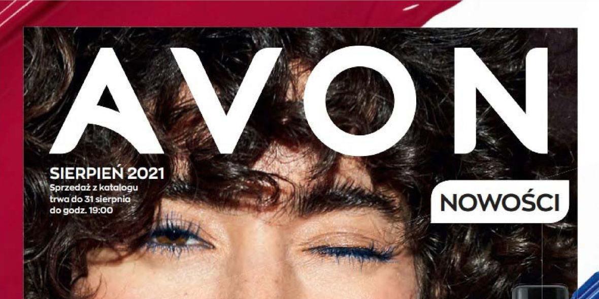 Avon: Katalog Avon Sierpień 2021 2021-08-01