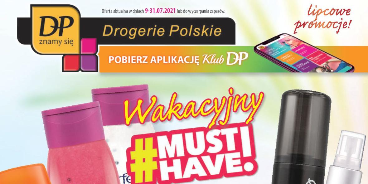 Drogerie Polskie: Gazetka Drogerie Polskie 2021-07-09