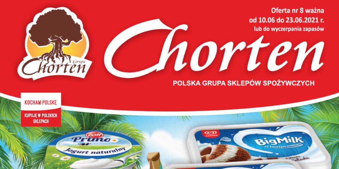 Chorten: Gazetka Chorten 2021-06-10