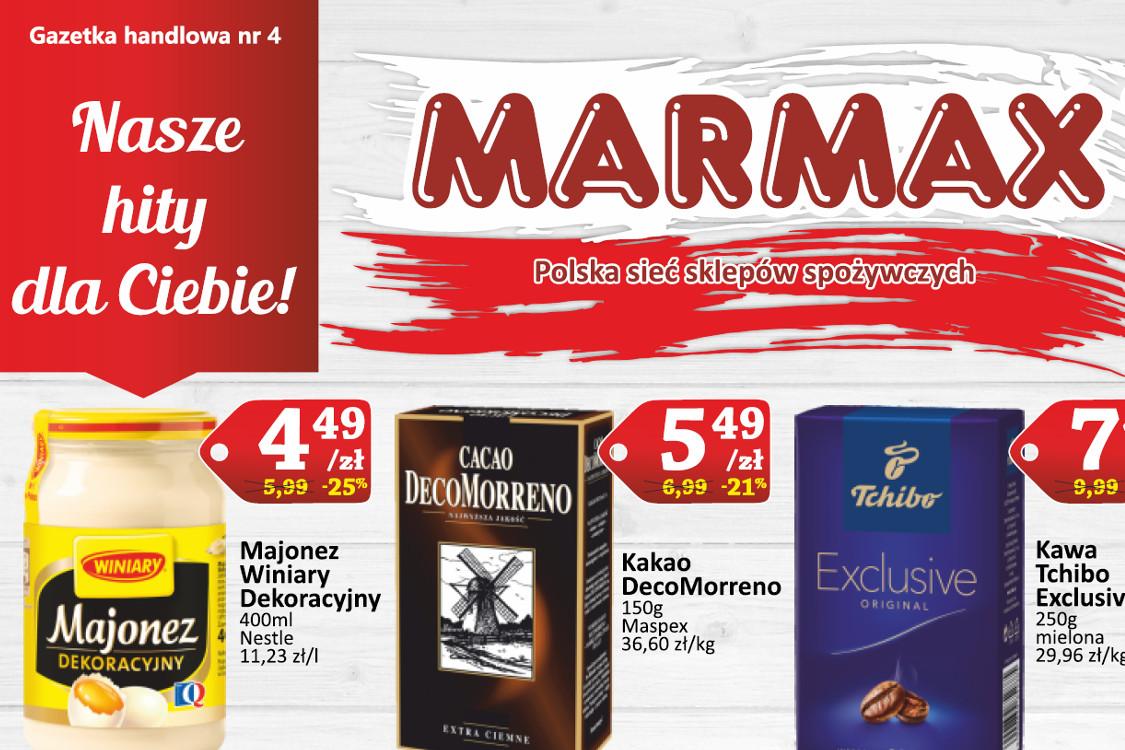 Marmax: Oferta handlowa 2021-03-27