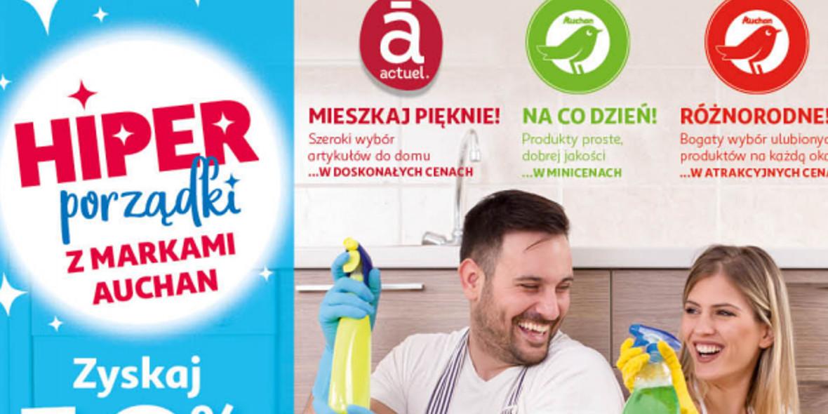 Auchan: Gazetka Auchan - Porządki Hipermarkety 2021-09-16