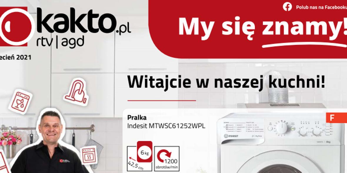 kakto.pl: Gazetka Kwiecień 2021-04-09