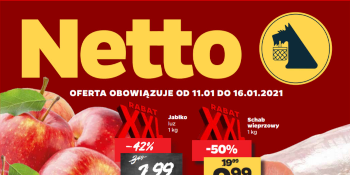 Netto: Gazetka od 11.01 2021-01-11