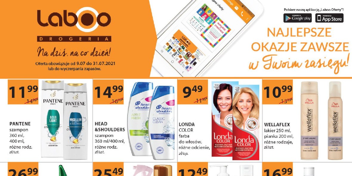 Drogerie Laboo: Gazetka Drogerie Laboo - Partner 2021-07-09