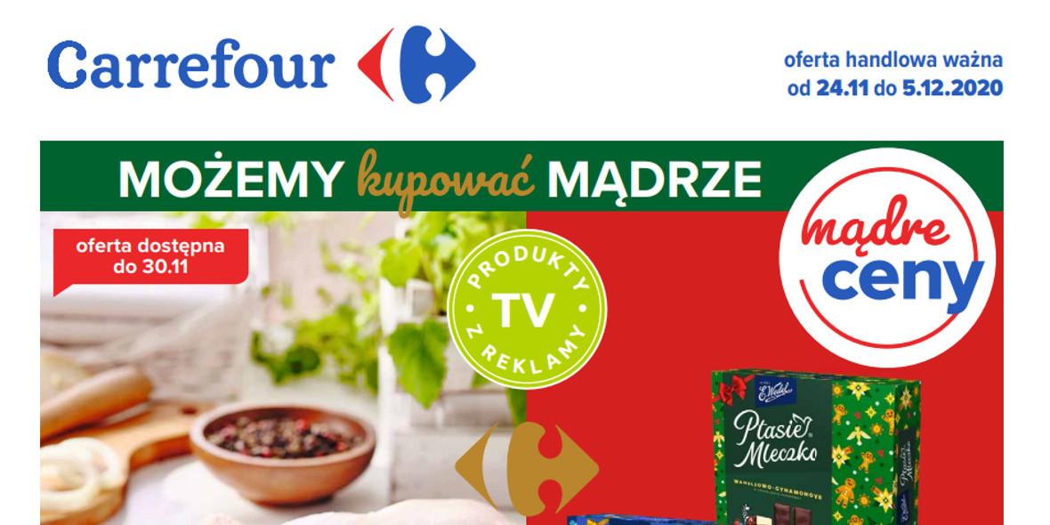 Carrefour: Oferta handlowa 2020-11-24
