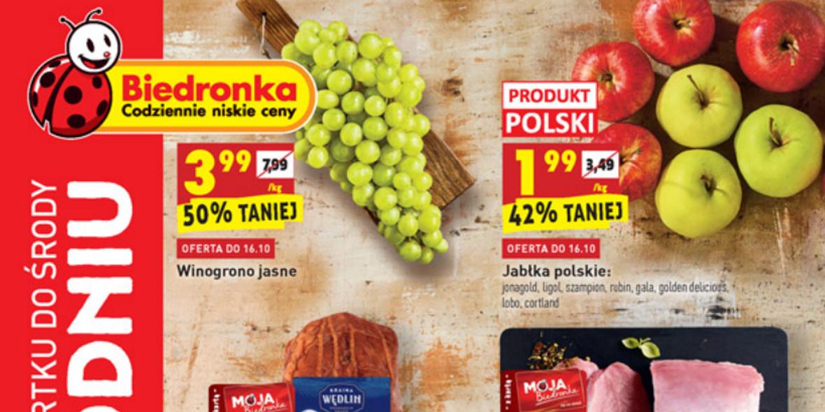 Biedronka: Gazetka Biedronka - W tym tygodniu od 14.10 2021-10-14