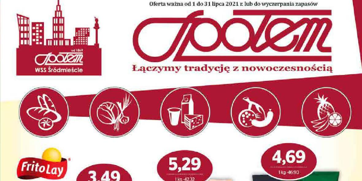 Społem Sp z o.o.: Gazetka Społem Sp z o.o. 2021-07-01