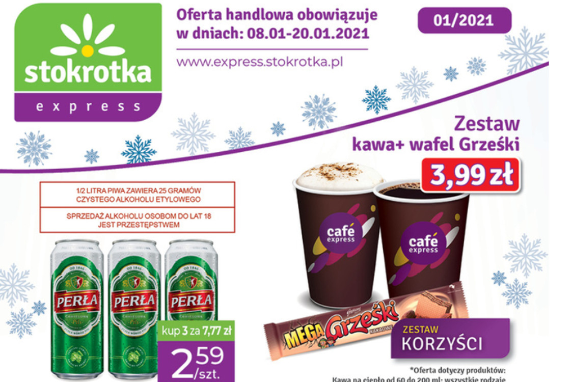 Stokrotka Express: Oferta handlowa 2021-01-08