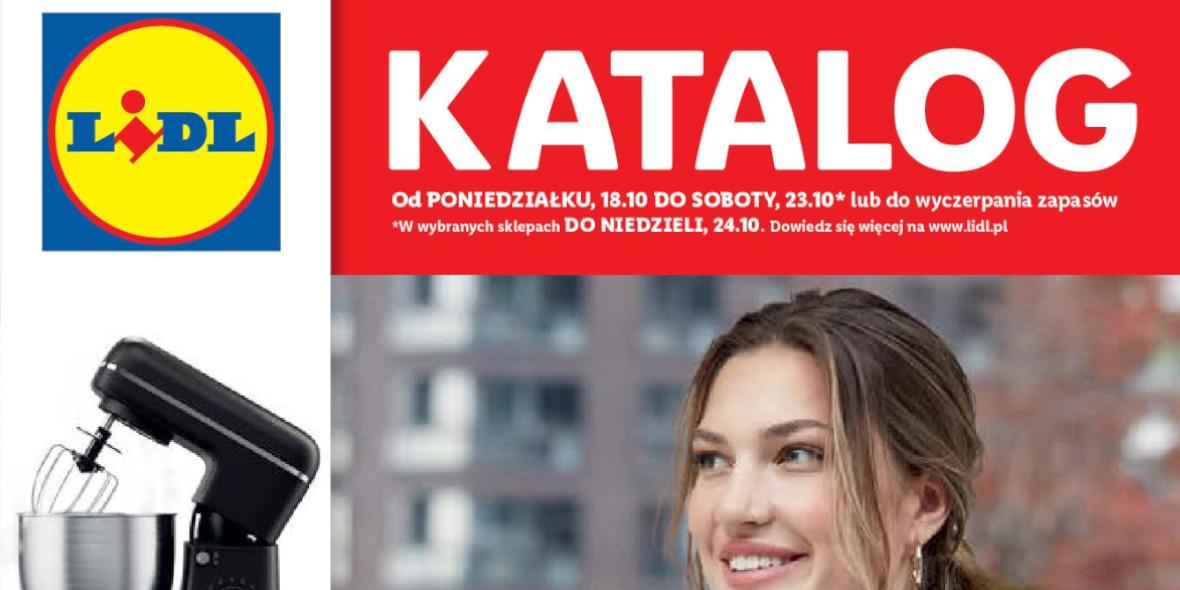 Lidl: Gazetka Lidl - katalog 18-24.10. 2021-10-18