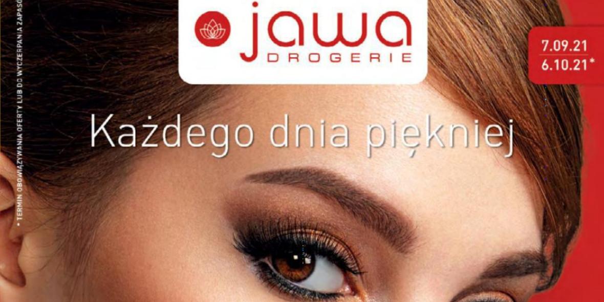 Drogerie Jawa: Gazetka Drogerie Jawa 2021-09-07