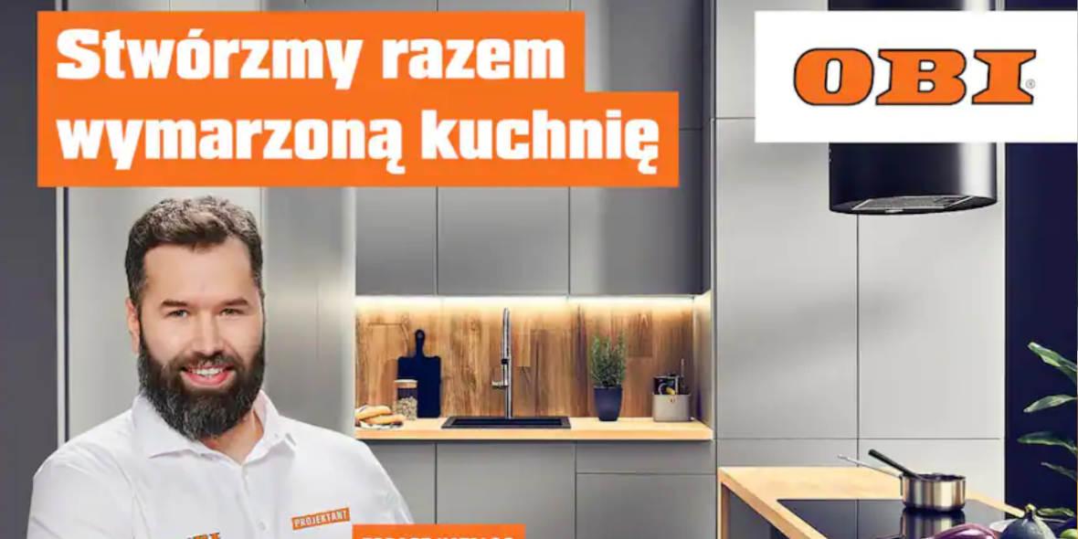 OBI: Gazetka OBI - Kuchnia 2021-07-21