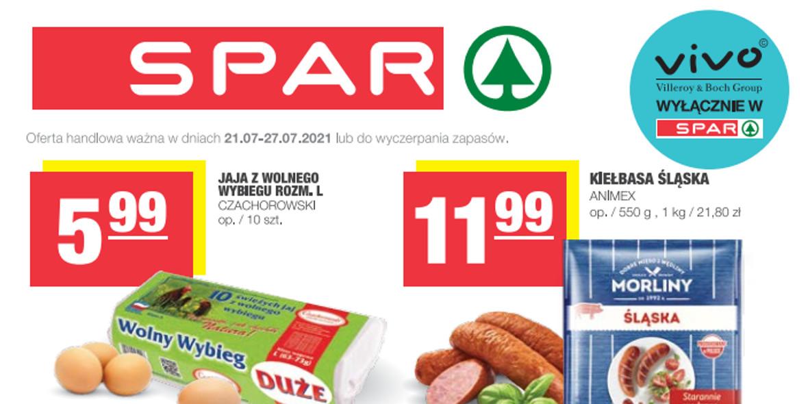Spar: Gazetka SPAR Express 2021-07-21