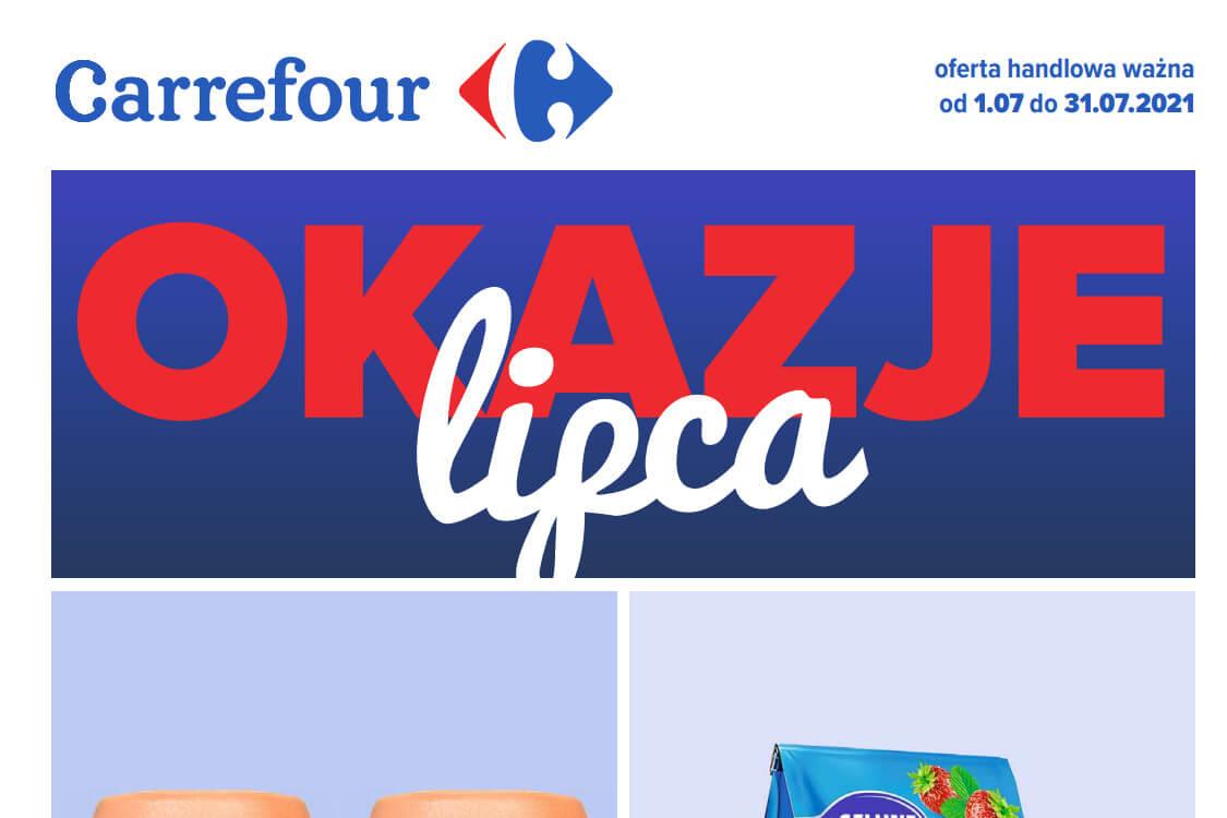 Carrefour: Gazetka Carrefour - Okazje lipca 2021-07-01