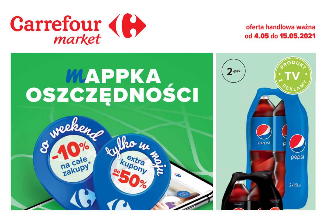 Carrefour Market: Oferta handlowa 2021-05-04