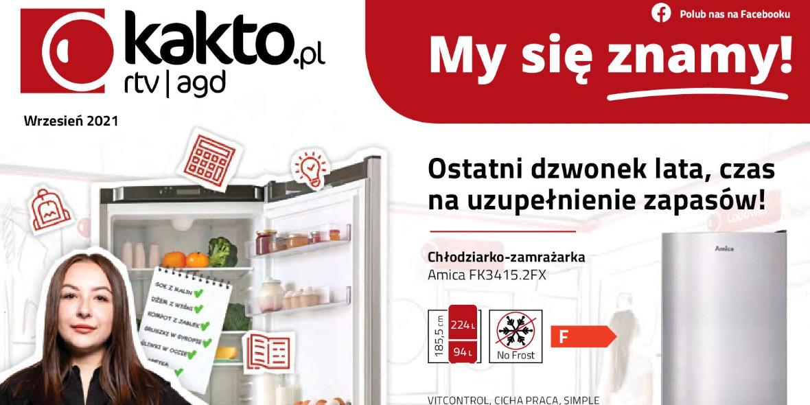 kakto.pl: Gazetka kakto.pl 2021-09-01