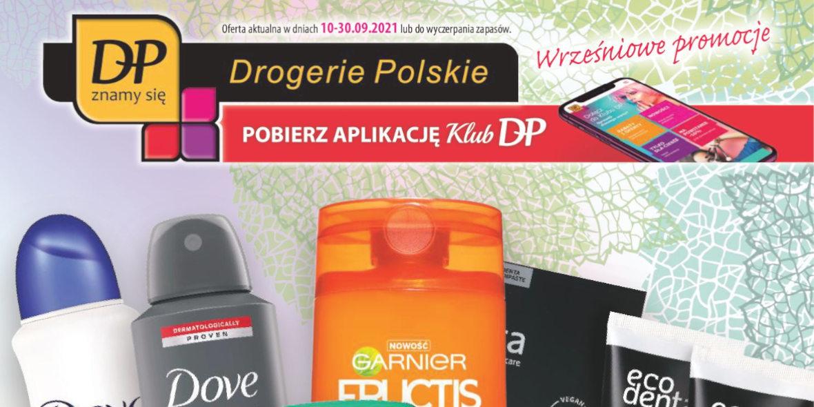 Drogerie Polskie: Gazetka Drogerie Polskie 2021-09-10