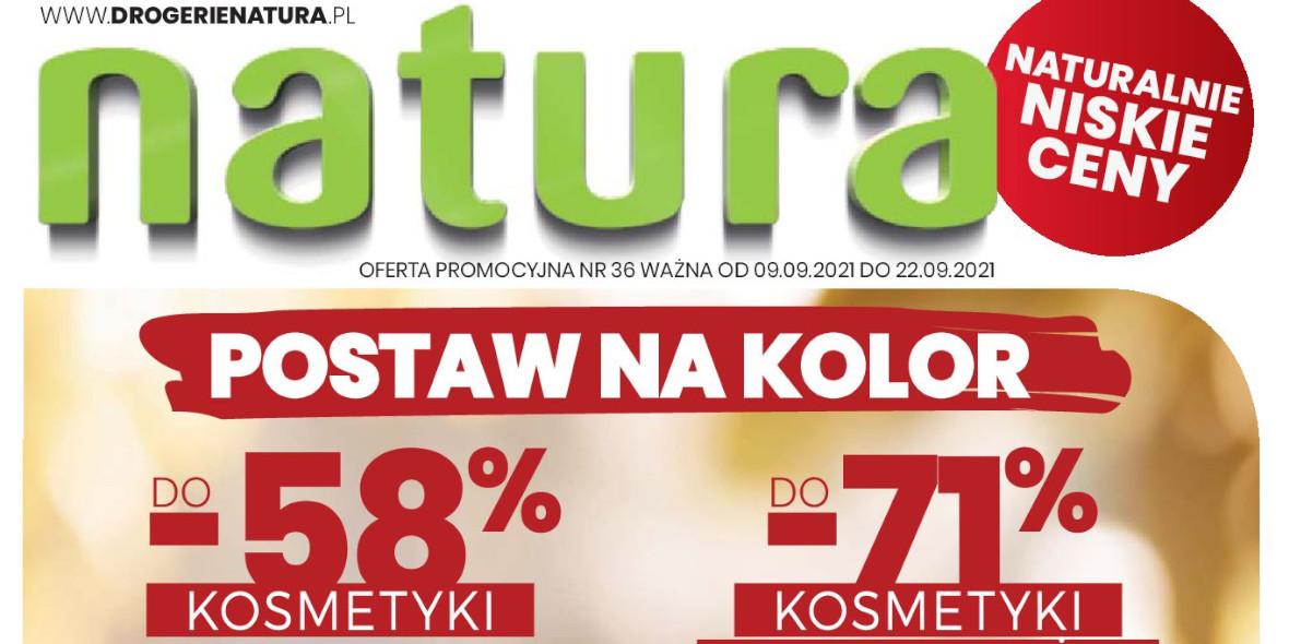 Drogerie Natura: Gazetka Drogerie Natura 2021-09-09