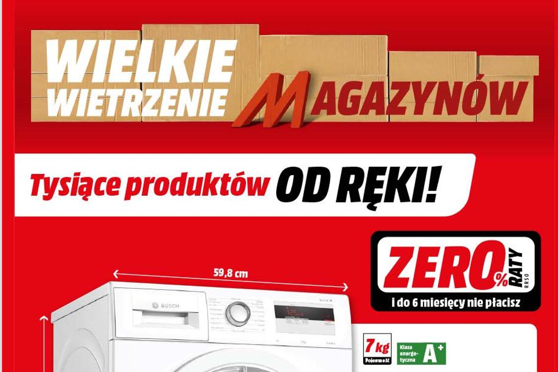 Media Markt: Gazetka Media Markt - Wietrzenie magazynów 2021-09-15