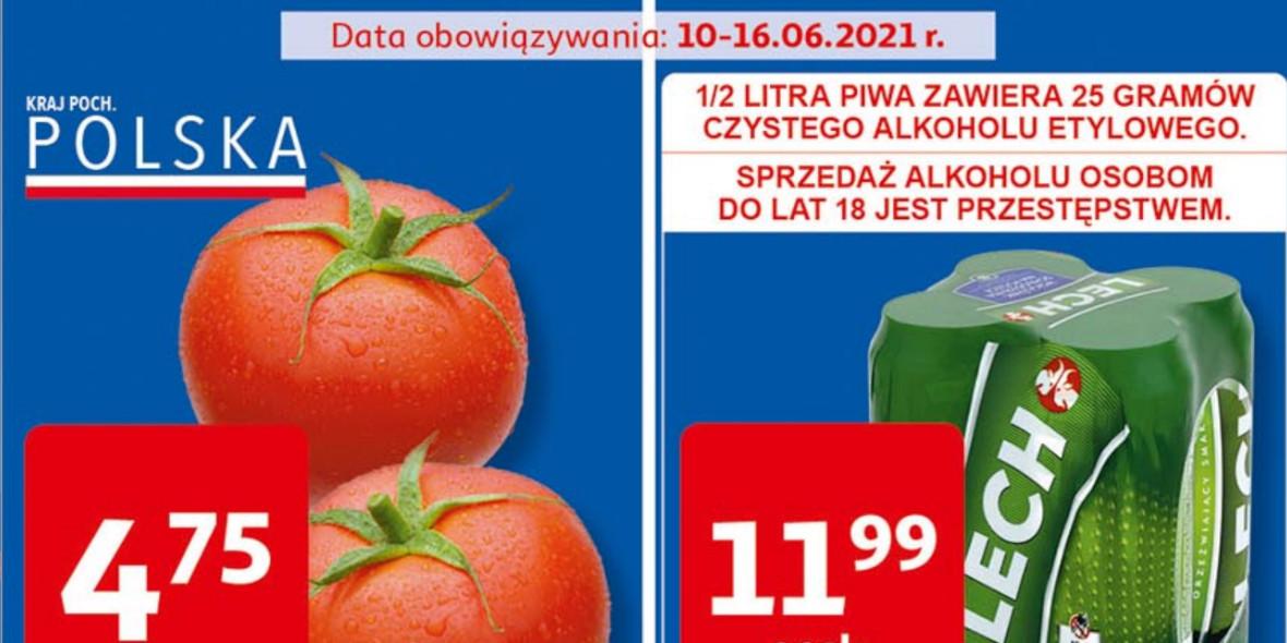 Auchan: Gazetka Auchan Supermarket 2021-06-10