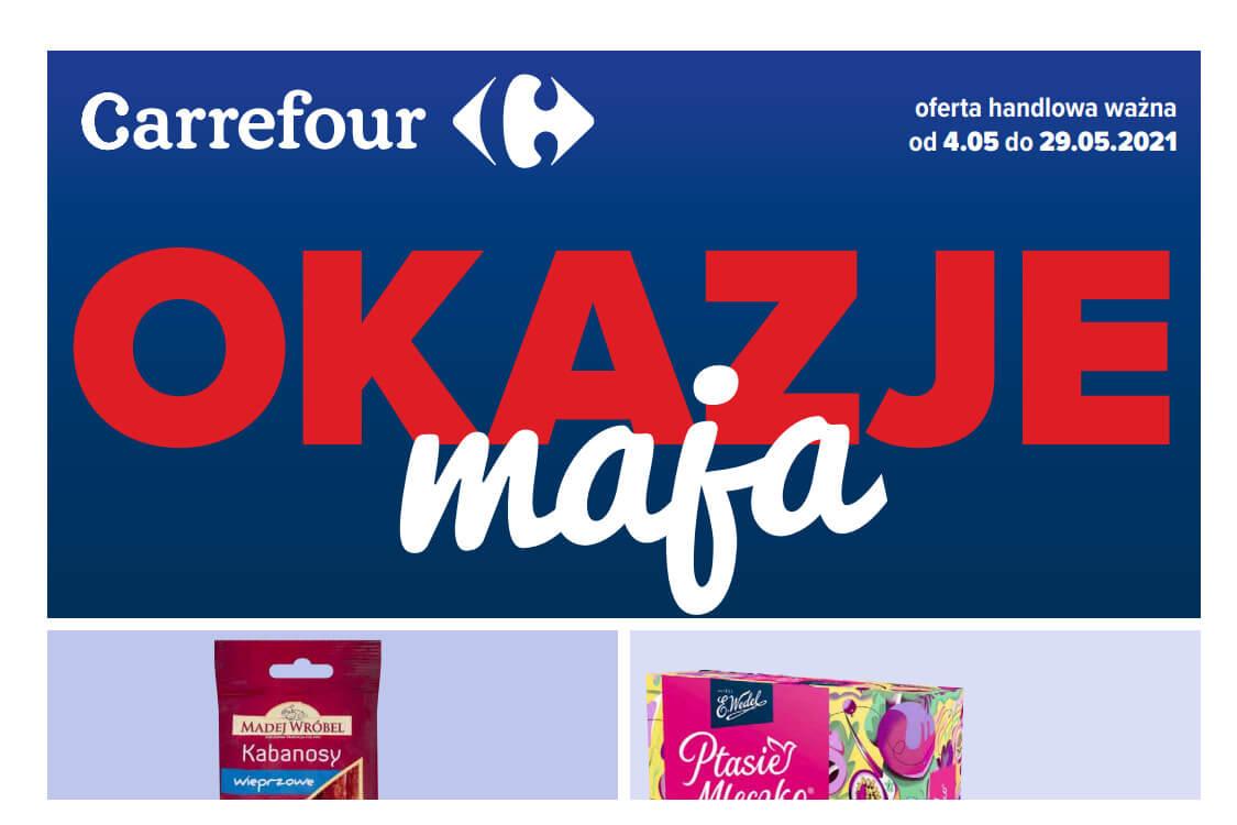 Carrefour: Okazje maja 2021-05-04