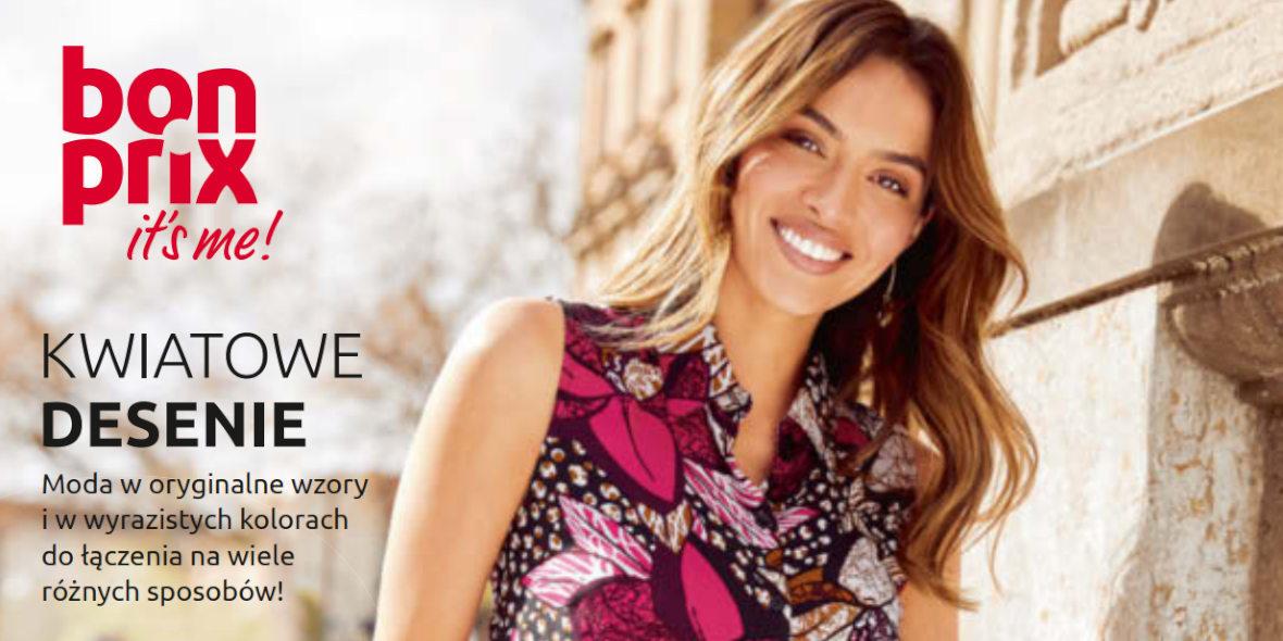Bonprix: Katalog Bonprix - Kwiatowe desenie 2021-09-09