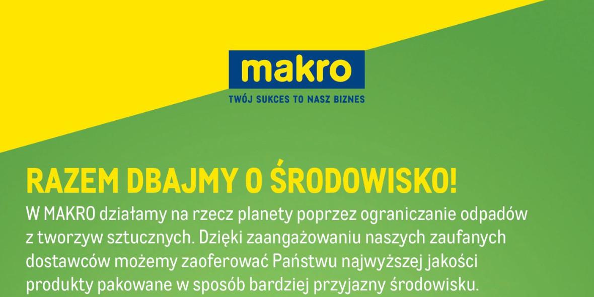 Makro: Gazetka Makro - Przyjazne dla środowiska 2021-07-13