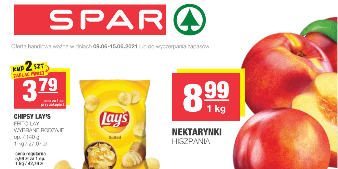 Spar: Gazetka SPAR Express 2021-06-09
