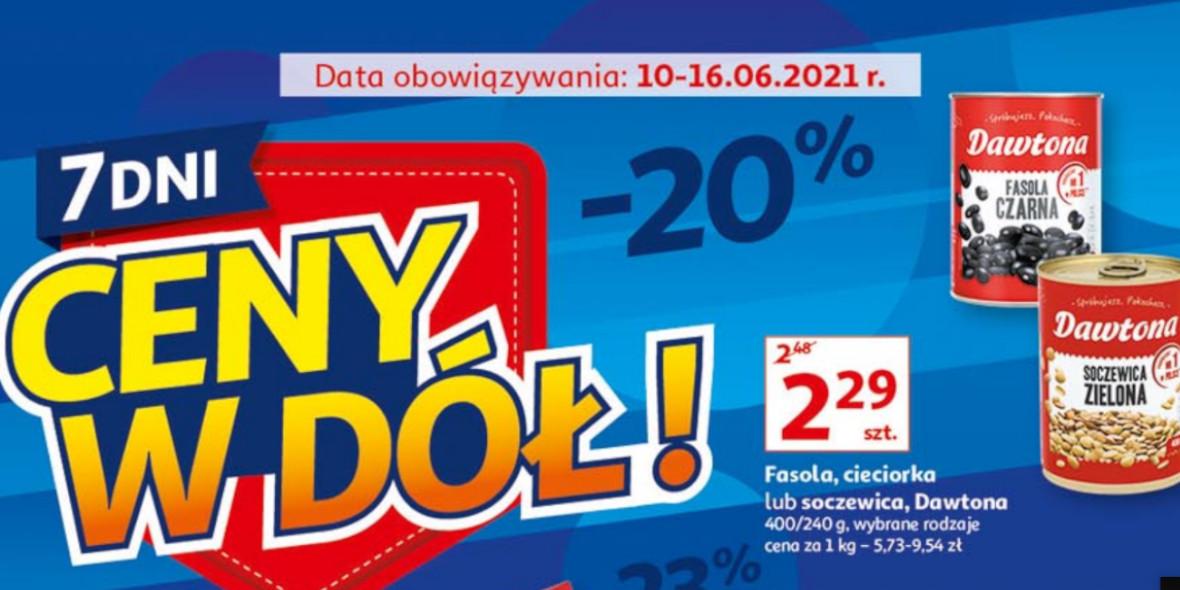 Auchan: Gazetka Auchan - Ceny w dół 2021-06-10