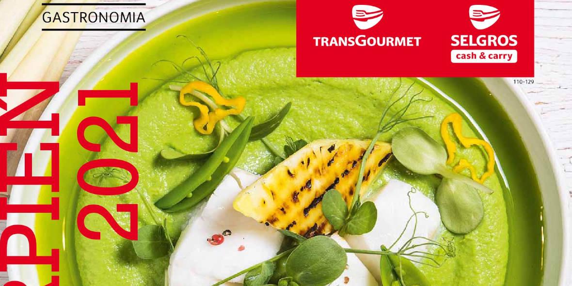 Selgros: Gazetka Selgros - Gastronomia 2021-08-01