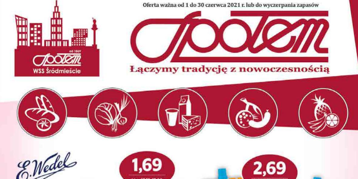 Społem Sp z o.o.: Gazetka Społem Sp z o.o. 2021-06-01