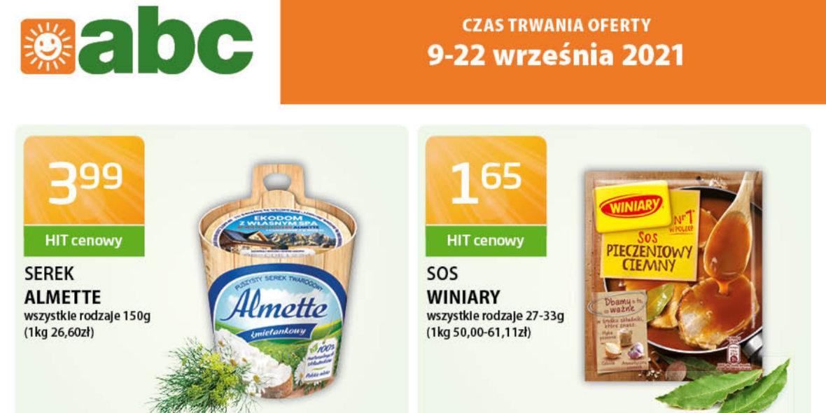 abc: Gazetka abc 2021-09-09
