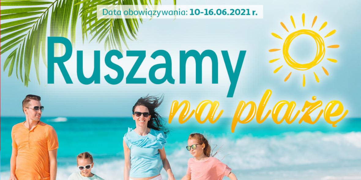 Auchan: Gazetka Auchan - Ruszamy na plażę 2021-06-10