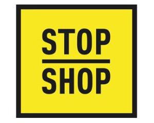 Logo STOP SHOP Świnoujście